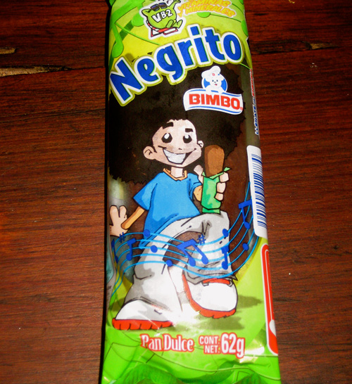 Funny foods: Chocolate Negrito
