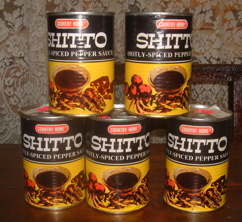 Funny foods: Shito hot