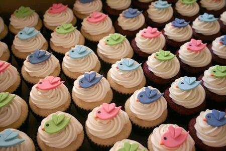 Twitter cupcake