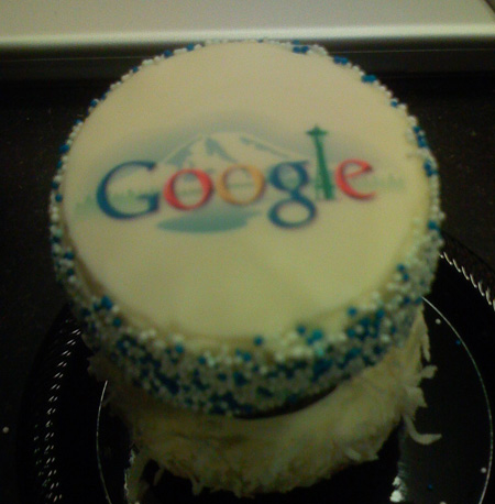 Google cupcake