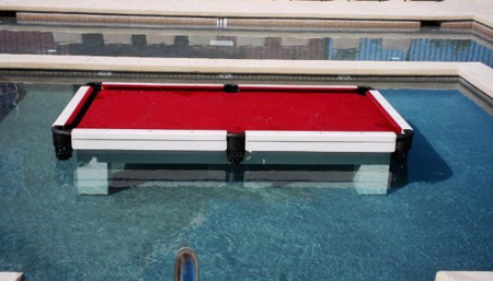 Water Proof Pool Table