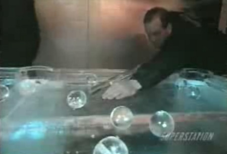 Ice Pool Table