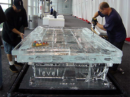 Ice Pool Table