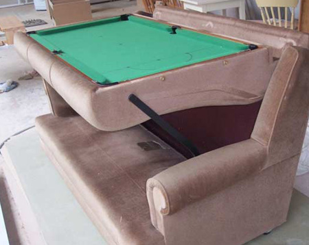 plans a homemade pool table