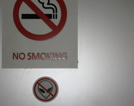 No Smoking, No Aliens