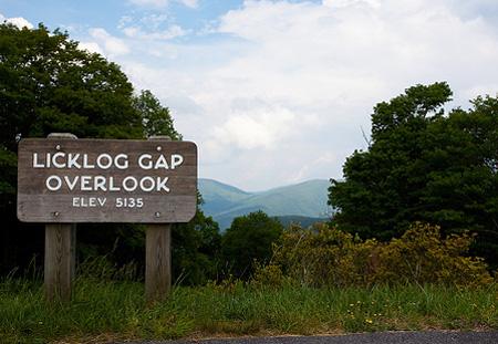 Licklog Gap