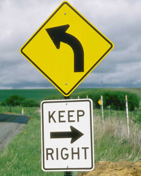 Keep Right OR