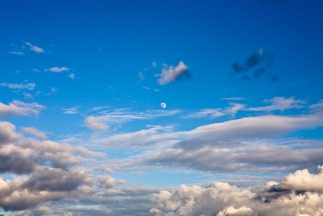 the beautiful sky is o...