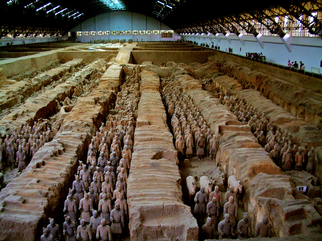 the first emperor of china qin The terracotta army - the armies of qin shi huang, the first emperor of china the man who first ruled over a unified china was born in 259 bc, during the.