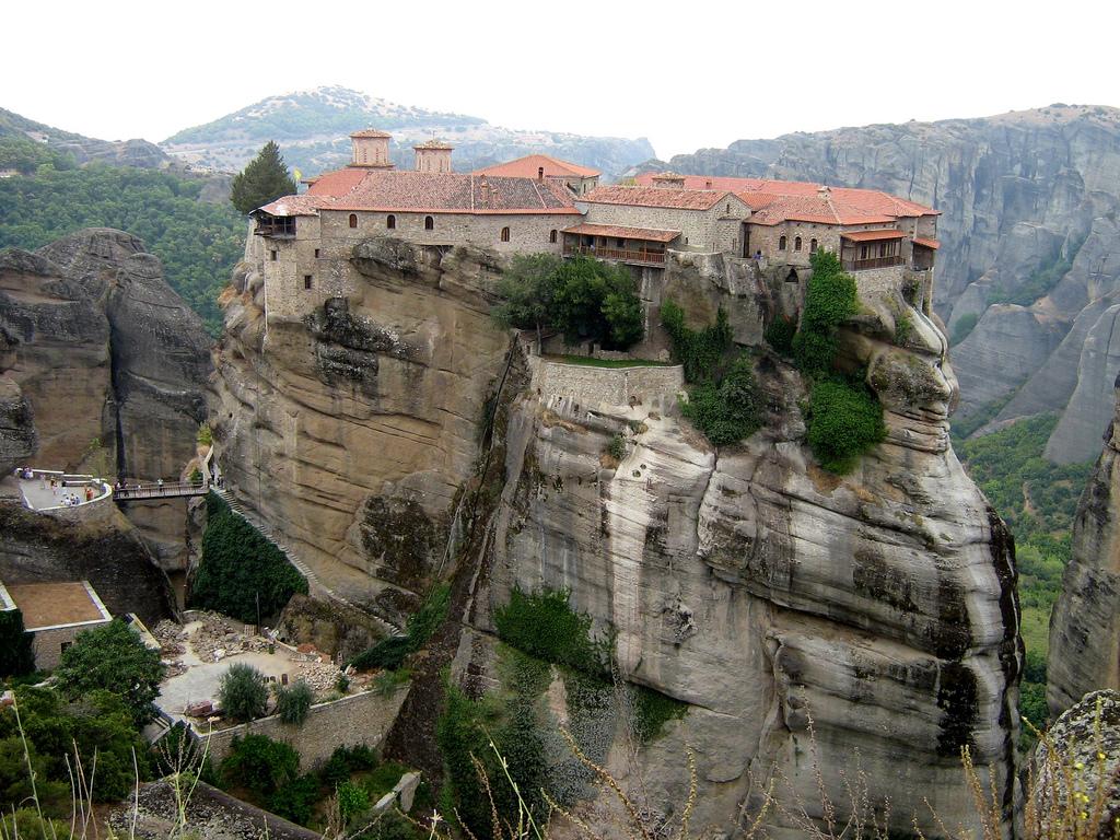 Meteora, Bangunan Indah Yunani