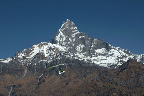 Nepal Mountain Peak