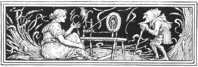 Rumpelstiltskin -- Credit: Walter Crane (via Wikimedia)