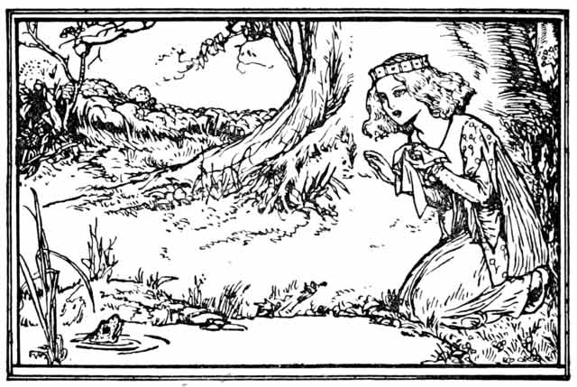 The Frog Prince -- Credit: Robert Anning Bell (via Wikimedia)