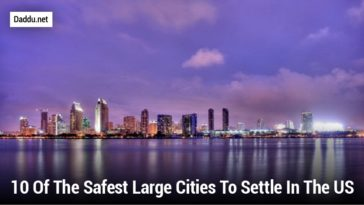 10 OF THE SAFEST LARGE CITIES TO SETTLE IN THE US