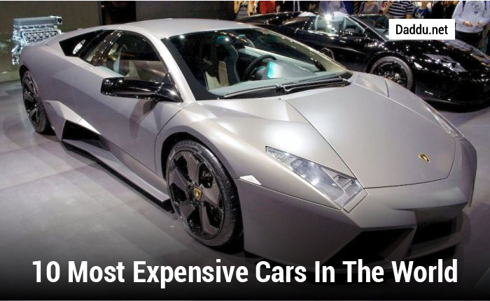 10 MOST EXPENSIVE CARS IN THE WORLD