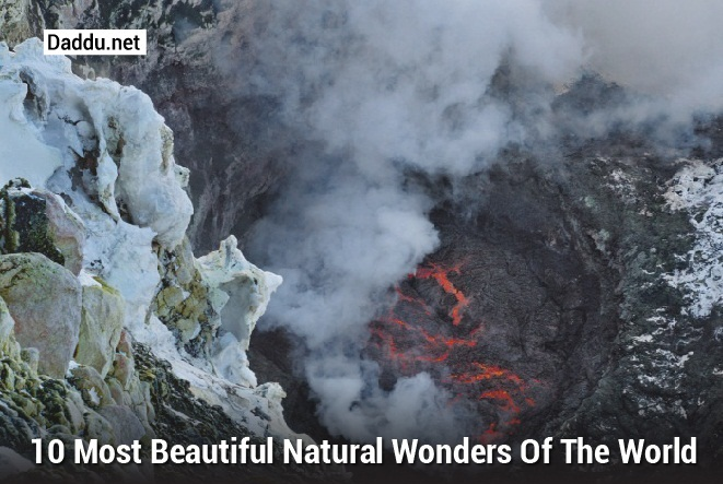 the most beautiful natural wonders of The usa is one of the most diverse and beautiful places on earth  the country  contains some of the worlds most incredible natural wonders.