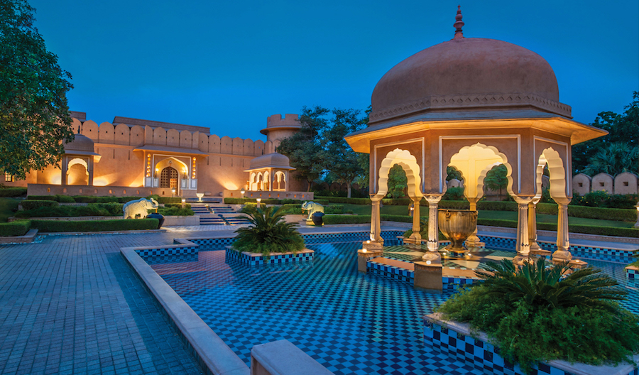 The Oberoi Rajvilas, Jaipur, Rajasthan, India