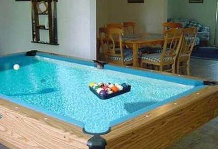 Water Pool Table